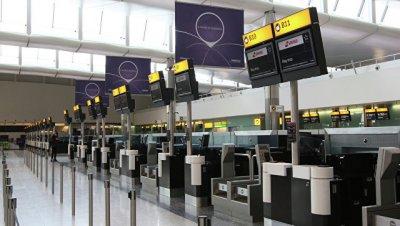 В лондонском аэропорту задержали двух человек по подозрению в терроризме
