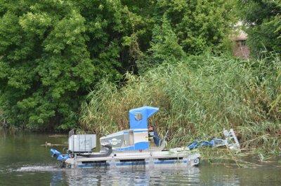 На Темернике испытали первые в Ростове косилки-болотоходы