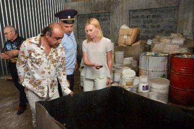 Предприятие в Левенцовке продолжает загрязнять атмосферу несмотря на решение суда