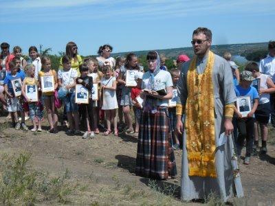 В Белокалитвинском районе прошел митинг «Наплакались за всю войну»