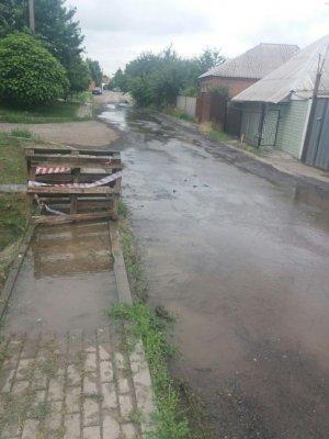 Ростовчане пожаловались на потоп на улице Зерноградской