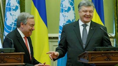 Гутерреш заявил, что ООН готова помочь Украине в реализации реформ