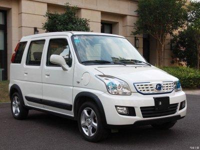 В Китае на базе старого Suzuki Wagon R разработали электромобиль