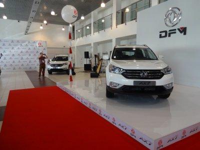 В России начинаются продажи кроссовера Dongfeng на лицензионной платформе Honda. Фото и цены