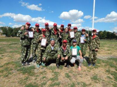 Юные десантники из Белой Калитвы вошли в тройку лучших по России