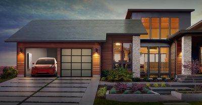 Tesla начала устанавливать солнечные крыши своим сотрудникам
