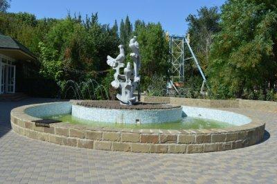В парке им. Маяковского завершились работы по реконструкции фонтана