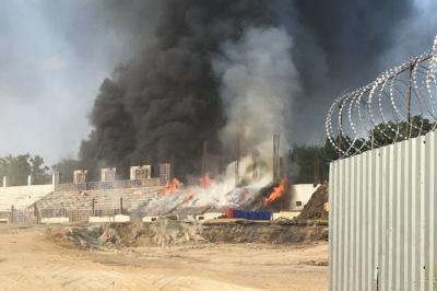 Мэр Таганрога: «Пожар на стадионе