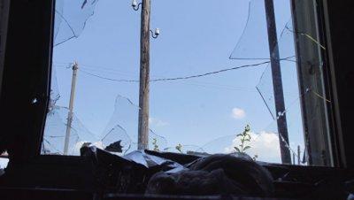 ВСУ обстреляли Докучаевск, повреждены два дома