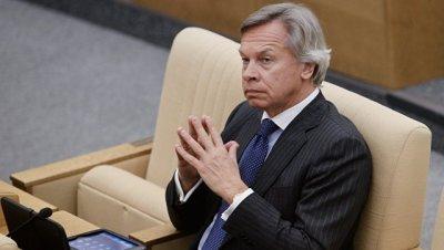 Пушков назвал ложью обвинения в адрес России о поставке двигателей в КНДР