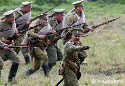 На фестивале под Калининградом воссоздали сражение Первой мировой войны