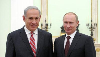 Израильские СМИ сообщили о готовящейся встрече Путина и Нетаньяху в Сочи