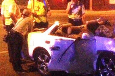 В Ростове в аварии на Шолохова погиб водитель иномарки