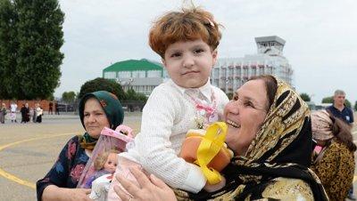 Сенатор рассказал, как российские женщины и дети вернулись из Ирака