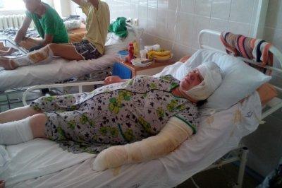В ростовских больницах осталось четверо погорельцев