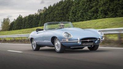 Компания Jaguar создала изящный электромобиль на основе классики