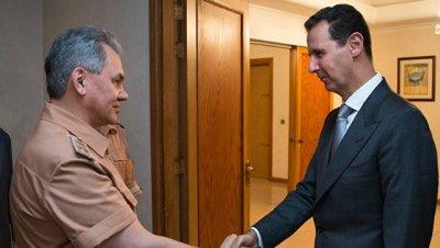 Шойгу передал Асаду поздравление Путина со снятием блокады Дейр-эз-Зора