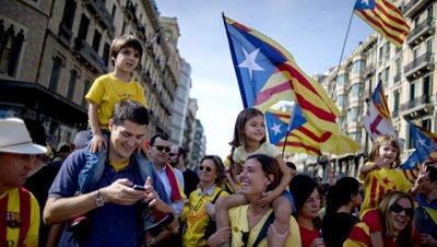 Испанские власти заблокировали сайт, посвященный референдуму в Каталонии