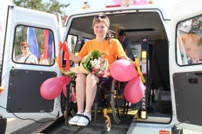 В Белокалитвинском районе появился спецавтомобиль для людей с ограниченными возможностями здоровья