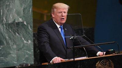 Трамп призвал ООН защищать суверенитет