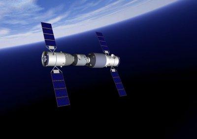 Китайский грузовик «Тяньчжоу-1» сошёл с орбиты и сгорел в атмосфере