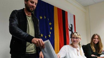 По итогам выборов в Германии в бундестаг прошли шесть партий
