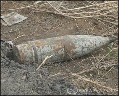 В Белой Калитве нашли артиллерийский снаряд