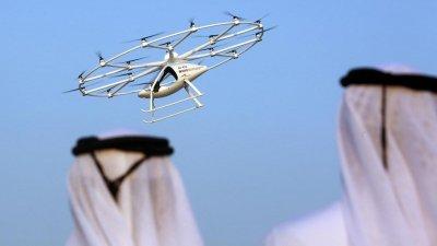 В Дубае беспилотное такси совершило свой первый тестовый полёт