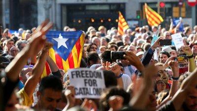 Россия надеется на разрешение ситуации в Испании в рамках закона