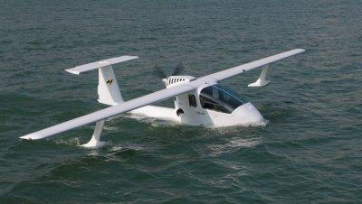 В Китае разработали первый в мире водный самолёт-беспилотник