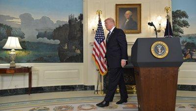 Трамп почтил минутой молчания память жертв стрельбы в Лас-Вегасе