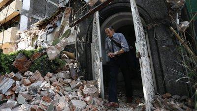 Власти Мехико прекратили поисковые работы после землетрясения