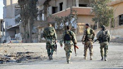 Сирийские военные завершили операцию против ИГ* на востоке Хомса