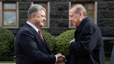 Эрдоган заявил, что обсудил с Порошенко борьбу с организацией Гюлена