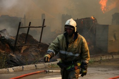 Дончанка, спасшая из огня четверых детей, потеряла в пожаре сына