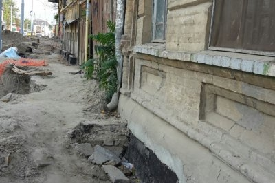 Раскопки на Станиславского разрушают дом, построенный в конце 19-го века