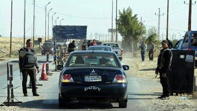 На севере Синая боевики напали на два КПП, есть погибшие и раненые