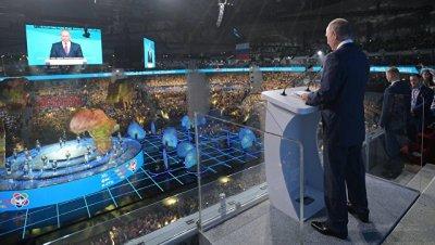Путин: странам нужно перестать смотреть друг на друга как на соперников