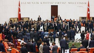 В парламенте Турции назвали временным дипломатический конфликт с США