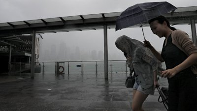 В нескольких китайских провинциях готовятся к надвигающемуся тайфуну