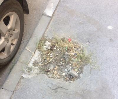 Жители Нахичеванского переулка просят оборудовать ливневую канализацию и отремонтировать дорогу
