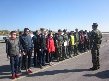 В Белой Калитве Прошел городской сбор военно – патриотических клубов