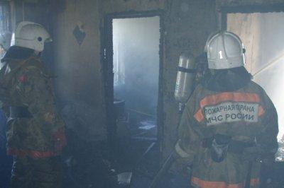 В Таганроге загорелся частный дом: пострадал его 44-летний владелец