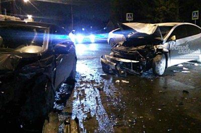 Несколько человек ранены в аварии на Белорусской в Ростове