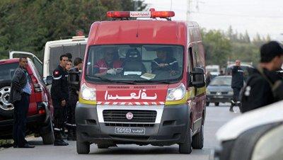 СМИ сообщили о серьезном ДТП с туристическим автобусом в Тунисе