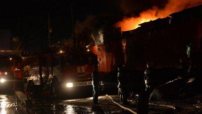 Пожар в исправительной колонии под Пермью локализован, сообщил источник