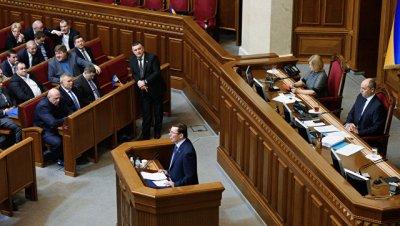 Вице-спикер Рады потребовала от Порошенко уволить генпрокурора Луценко