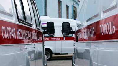 В Иркутской области опрокинулся рейсовый автобус