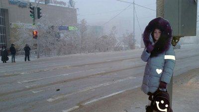 В Якутске у дорог расставили манекены школьников