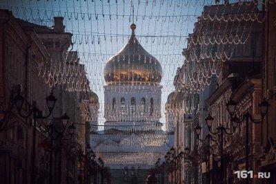 Жителей Ростова ждет теплое Рождество